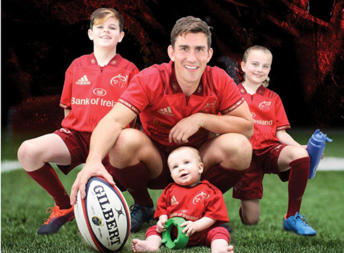 Inver sponsors Munster Rugby Junior Supporters Club